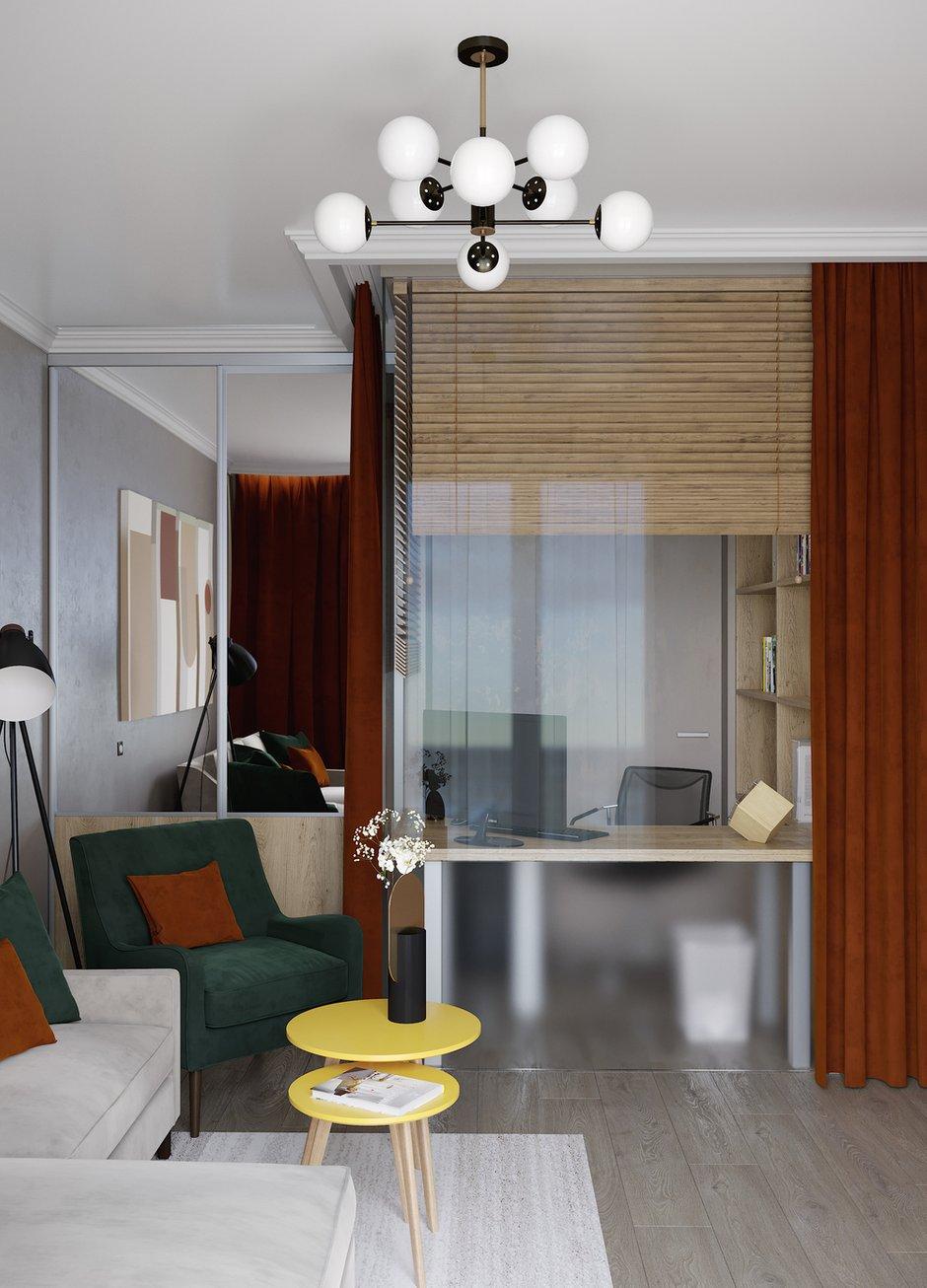 Фотография: Гостиная в стиле Современный, Проект недели, ПРЕМИЯ INMYROOM – фото на INMYROOM
