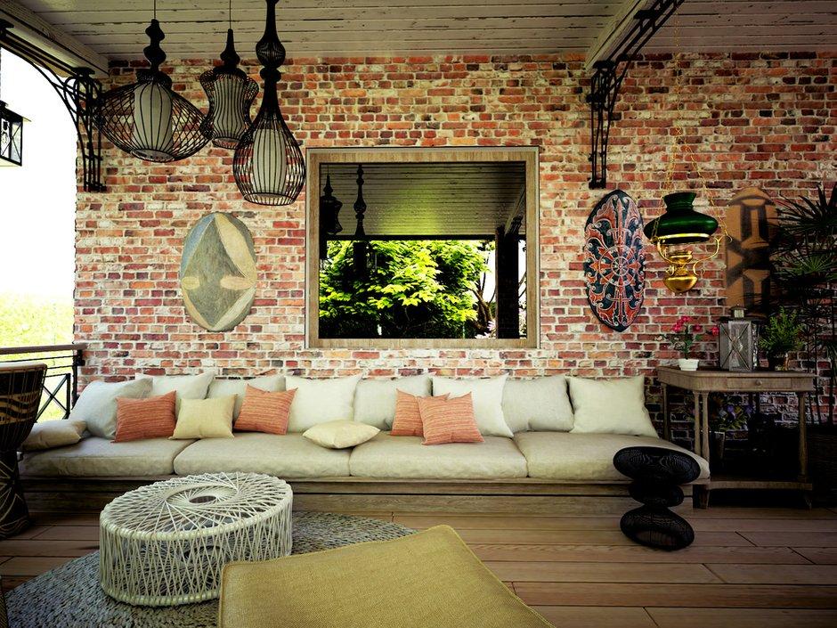 Фотография: Балкон, Терраса в стиле Лофт, Квартира, Дом, Дома и квартиры, Проект недели – фото на InMyRoom.ru