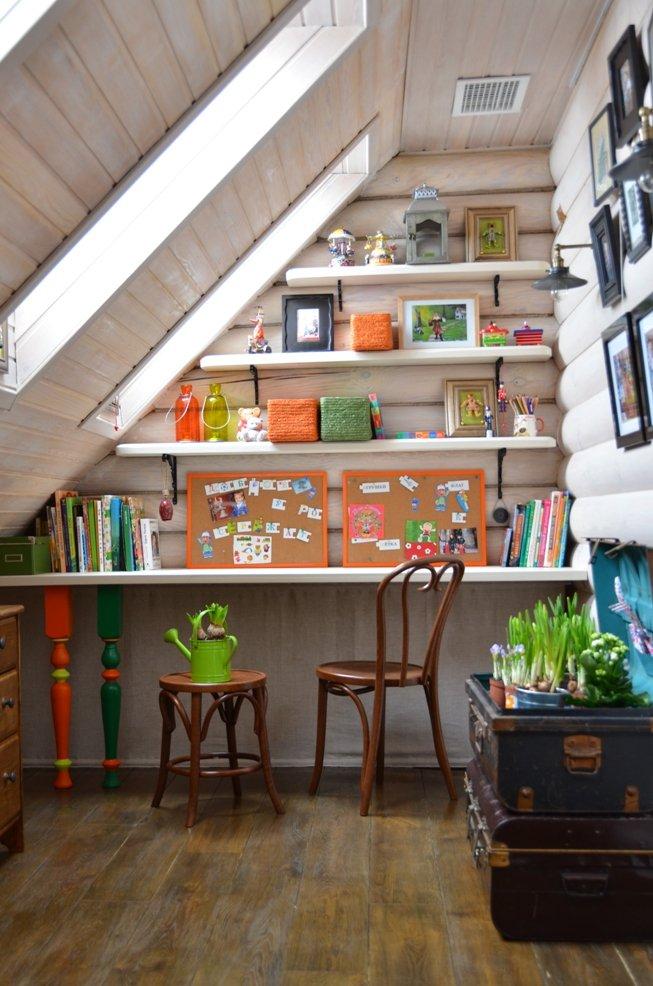 Фотография:  в стиле , Детская, Дом, Интерьер комнат, Проект недели, Женя Жданова – фото на INMYROOM