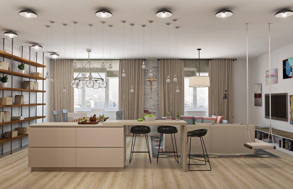 Фотография: Кухня и столовая в стиле Современный, Лофт, Декор интерьера, Квартира, Дома и квартиры, Проект недели, Надя Зотова – фото на INMYROOM