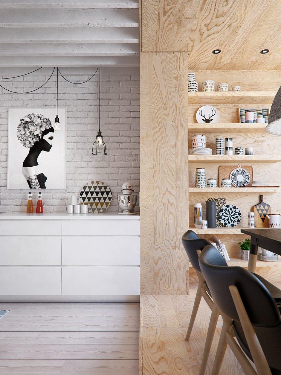 Фотография: Кухня и столовая в стиле Скандинавский, Квартира, Дома и квартиры, IKEA, Проект недели – фото на INMYROOM