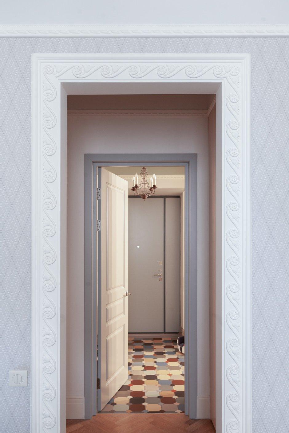 Фотография: Прихожая в стиле Эклектика, Квартира, Проект недели, Москва, Кирпичный дом, 2 комнаты – фото на INMYROOM