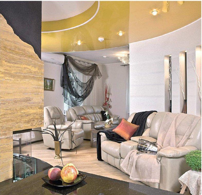 Фотография: Гостиная в стиле Современный, Эклектика, Дом, Дома и квартиры – фото на InMyRoom.ru