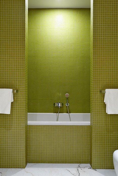 Фотография: Ванная в стиле , Квартира, BoConcept, Дома и квартиры, Проект недели – фото на InMyRoom.ru