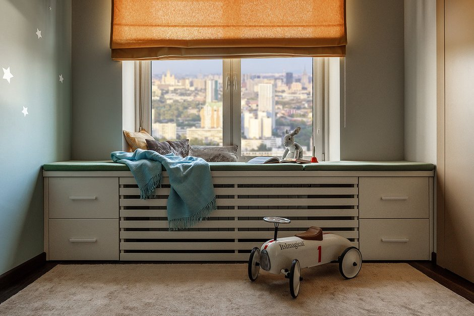 Фотография:  в стиле , Современный, Квартира, Проект недели, Москва, 4 и больше, Более 90 метров, Бюро IVA – фото на INMYROOM