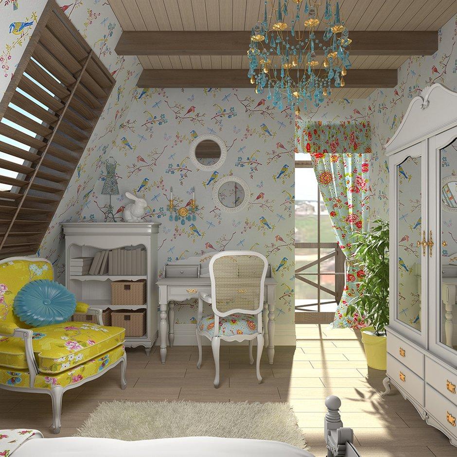Фотография: Детская в стиле , Декор интерьера, Дом, Country Corner, Дома и квартиры, Прованс, Проект недели – фото на INMYROOM