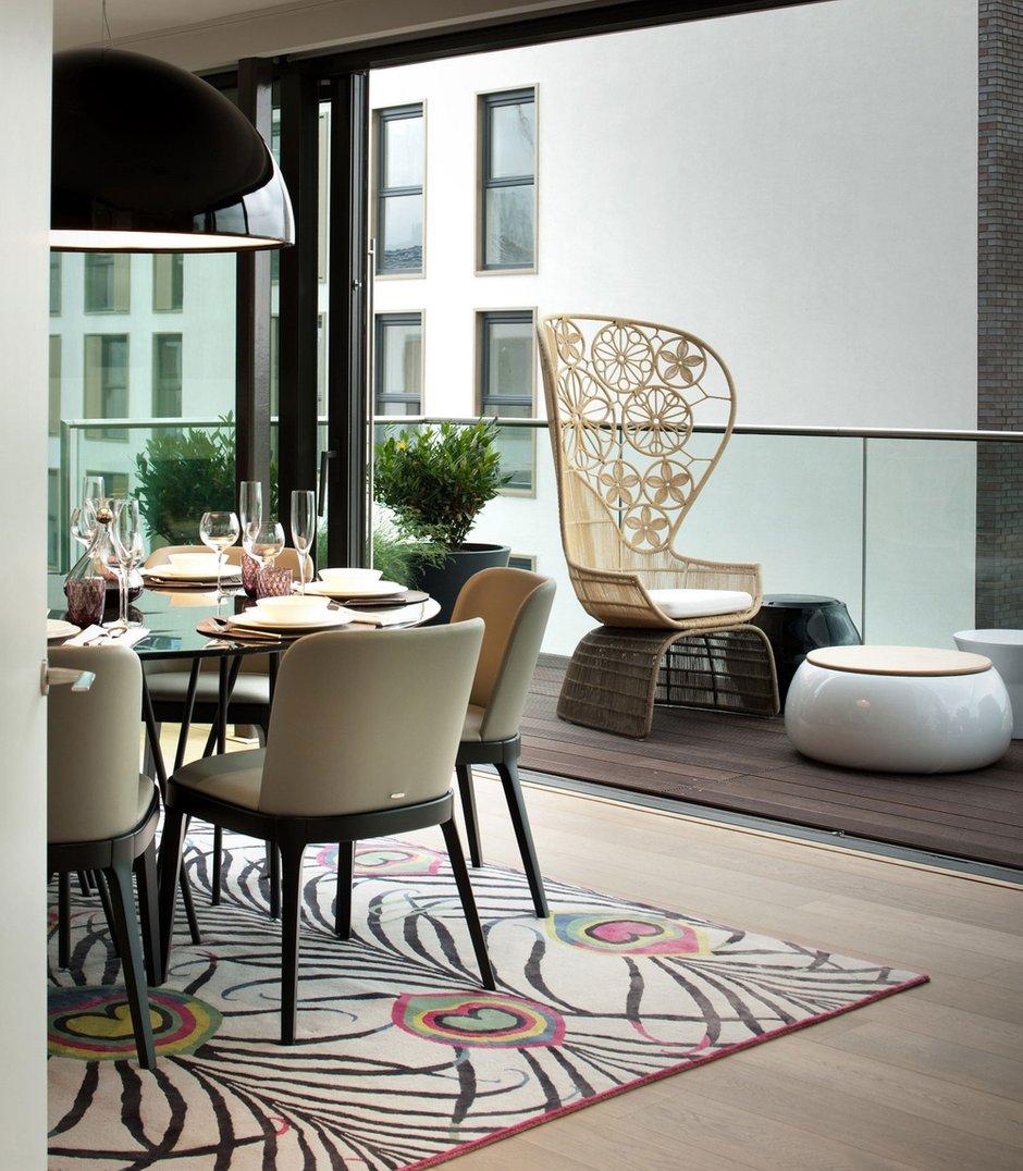 Фотография: Балкон, Терраса в стиле Современный, Квартира, Дома и квартиры – фото на INMYROOM