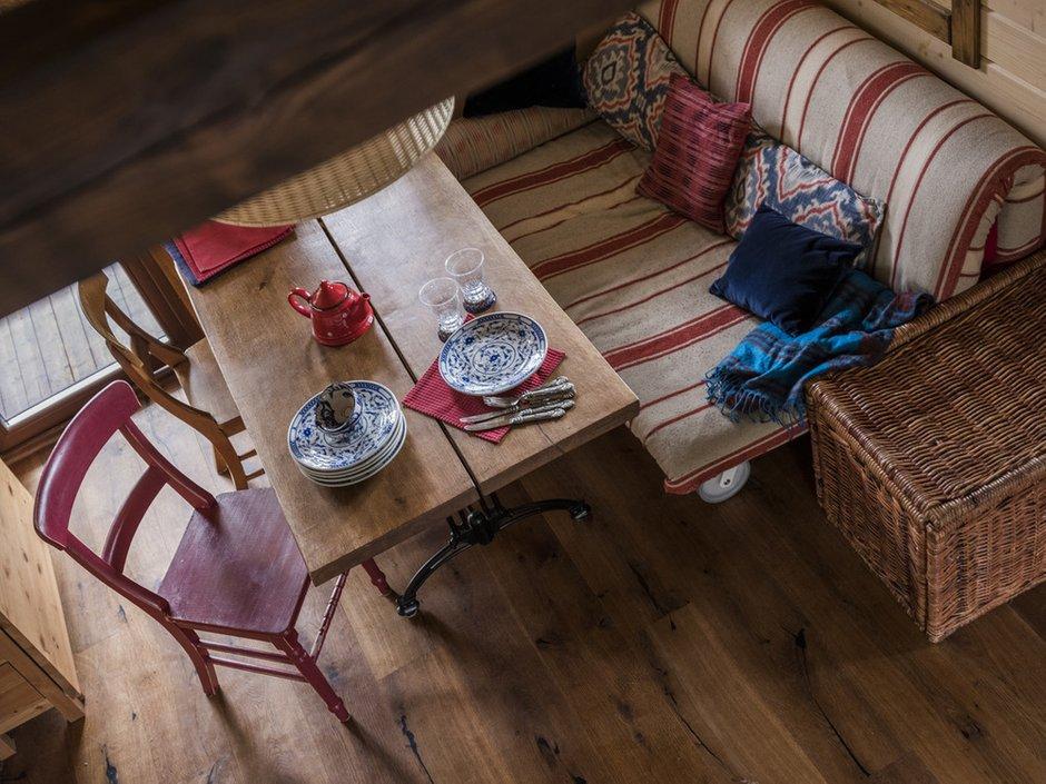 Фотография: Кухня и столовая в стиле Прованс и Кантри, Проект недели, Дача, Дом и дача, Московская область, Наталья Сорокина, 1 комната, до 40 метров, Васькино – фото на INMYROOM