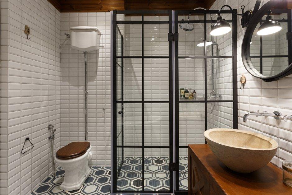 Фотография: Ванная в стиле Лофт, Квартира, Проект недели, Денис Соколов, SVOYA STUDIO – фото на INMYROOM