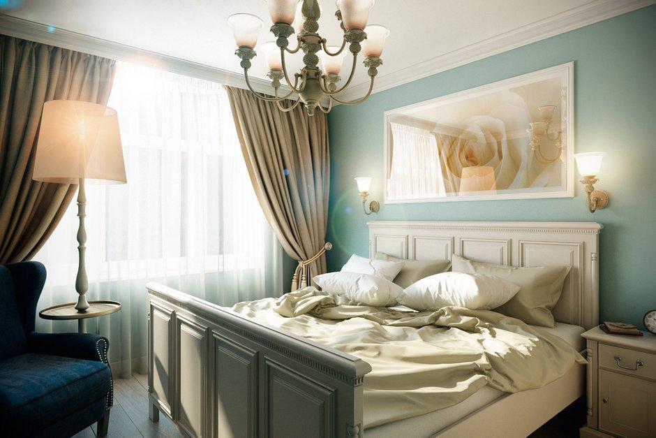 Фотография: Спальня в стиле Классический, Квартира, Дома и квартиры, Прованс, Проект недели, Москва – фото на INMYROOM