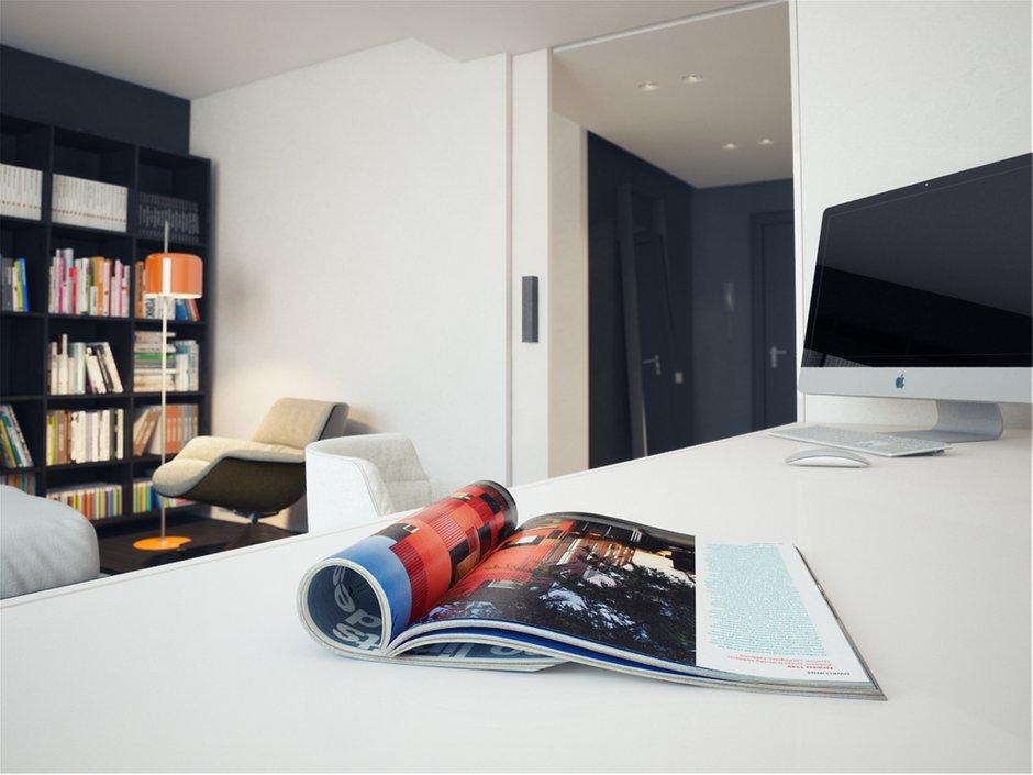Фотография: Спальня в стиле Современный, Хай-тек, Квартира, Дома и квартиры, Минимализм – фото на INMYROOM