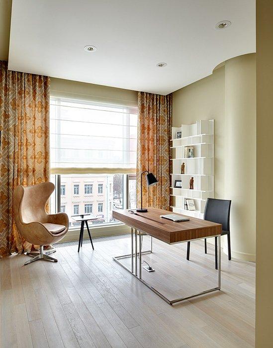 Фотография: Офис в стиле Лофт, Современный, Квартира, BoConcept, Дома и квартиры, Проект недели – фото на INMYROOM