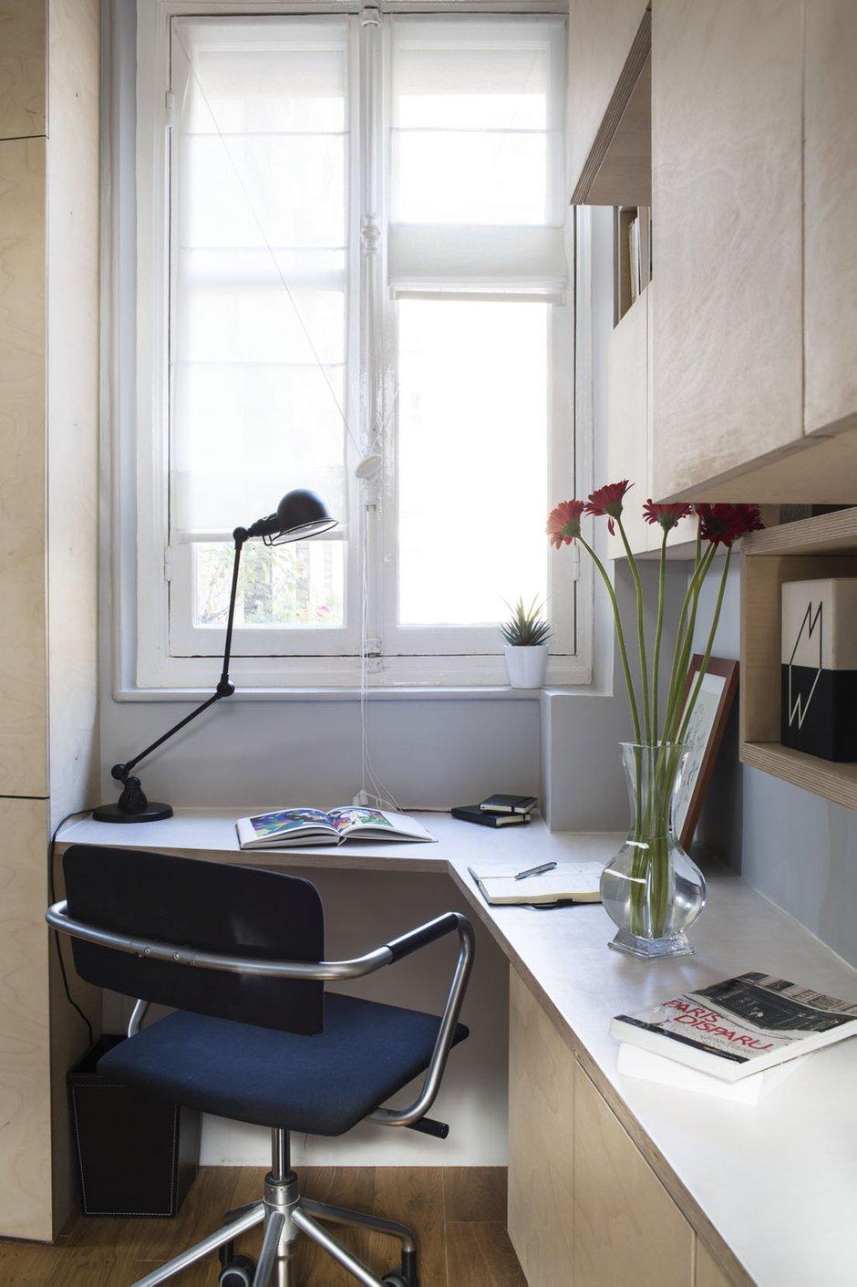 Фотография: Офис в стиле Современный, Лофт, Малогабаритная квартира, Квартира, Дома и квартиры – фото на INMYROOM