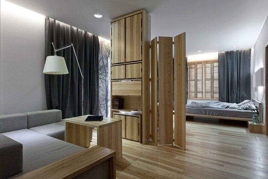 Фотография: Гостиная в стиле Современный, Дом, Дома и квартиры, Проект недели, Эко – фото на INMYROOM