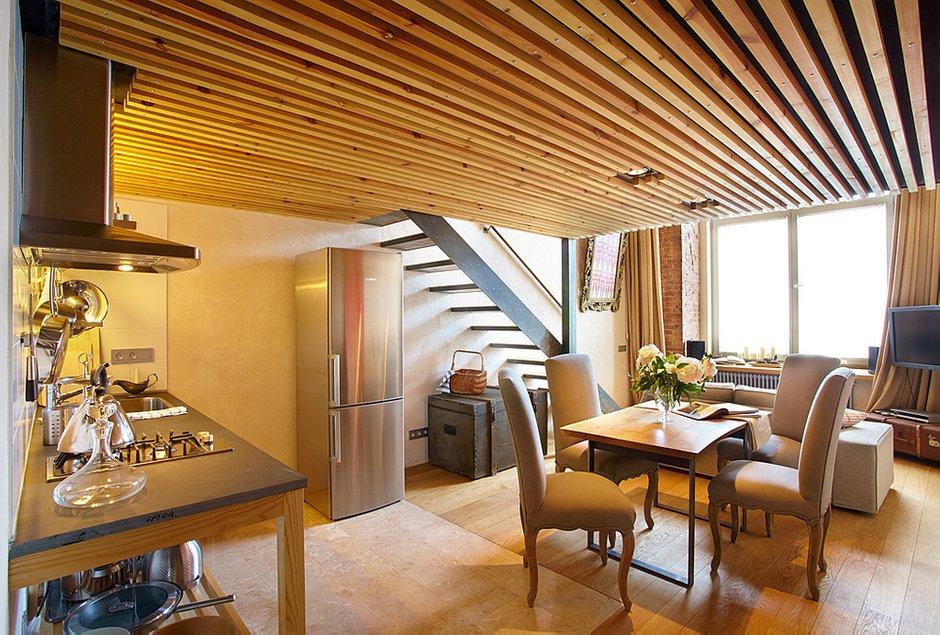 Фотография: Кухня и столовая в стиле Современный, Малогабаритная квартира, Квартира, Дома и квартиры, Проект недели – фото на INMYROOM