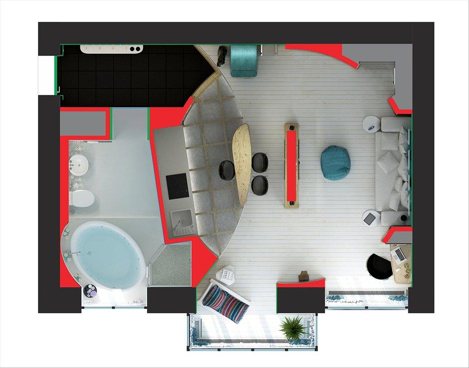 Фотография: Гостиная в стиле Прованс и Кантри, Эклектика, Лофт, Квартира, Перепланировка – фото на INMYROOM
