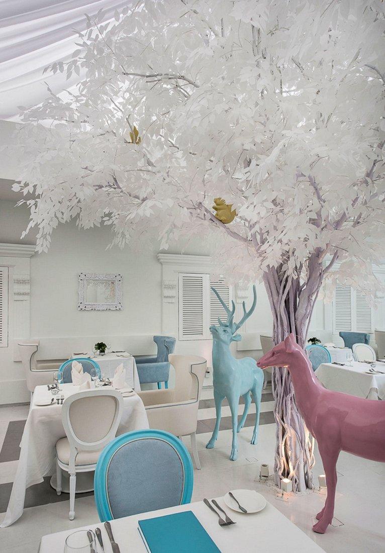 Фотография:  в стиле , Цвет в интерьере, Дома и квартиры, Городские места, Белый, Отель, Проект недели – фото на INMYROOM