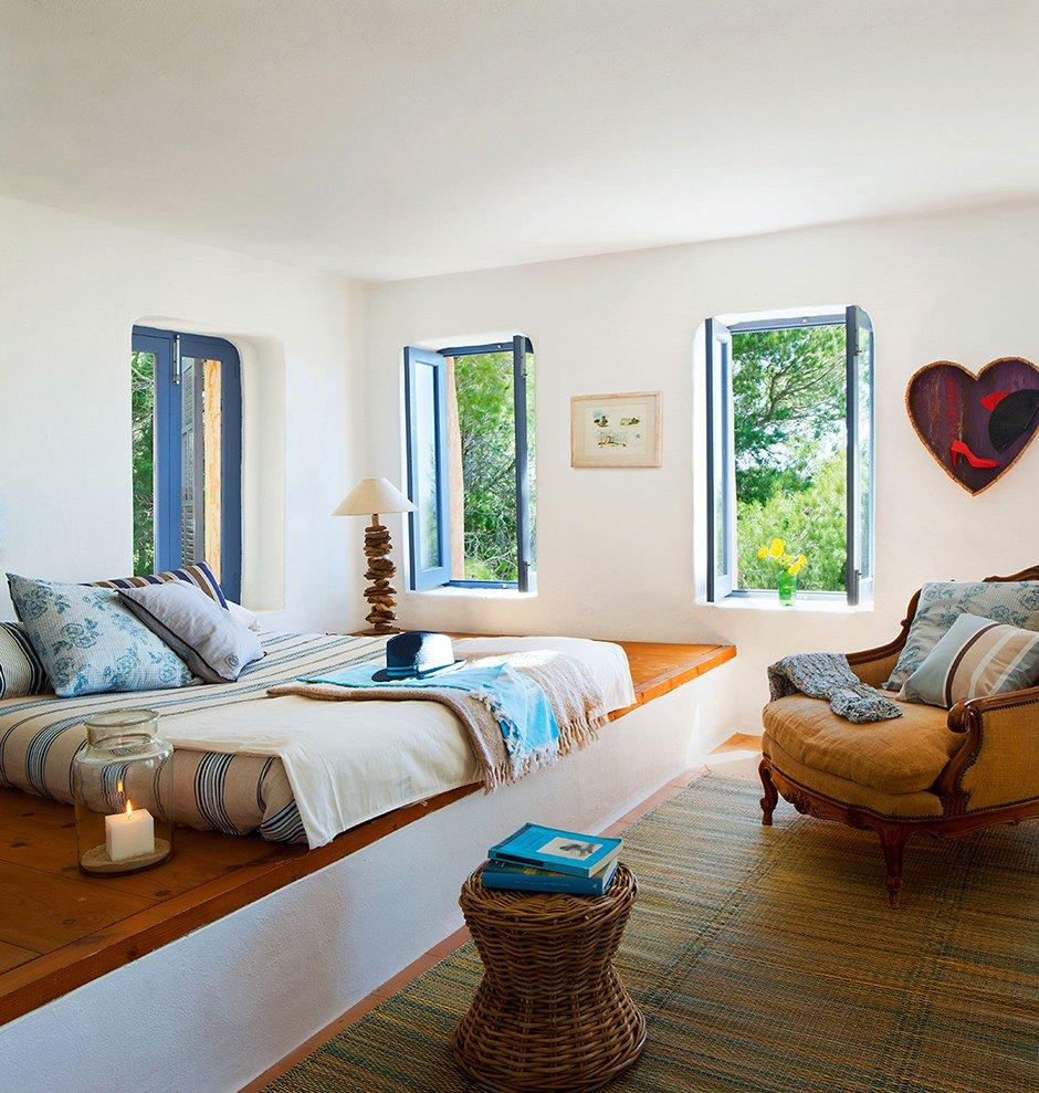 Фотография: Спальня в стиле Прованс и Кантри, Классический, Современный, Эклектика, Декор интерьера, Дом, Испания, Дома и квартиры, Бунгало – фото на INMYROOM