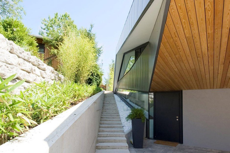 Фотография: Архитектура в стиле Современный, Эклектика, Дом, Дома и квартиры – фото на INMYROOM