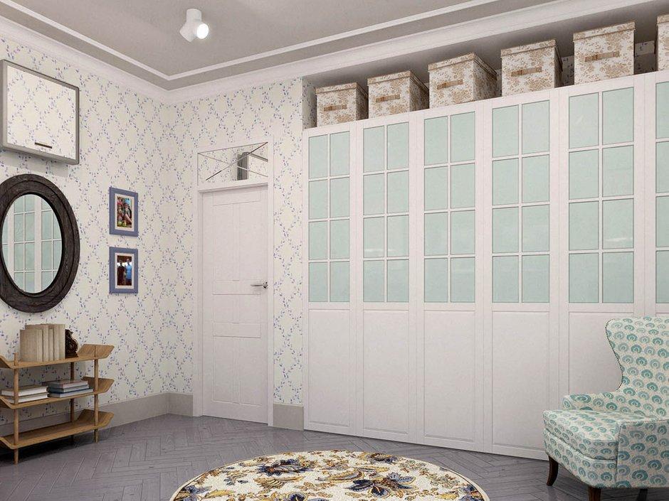 Фотография: Гостиная в стиле Скандинавский, Эклектика, Классический, Квартира, Проект недели – фото на INMYROOM