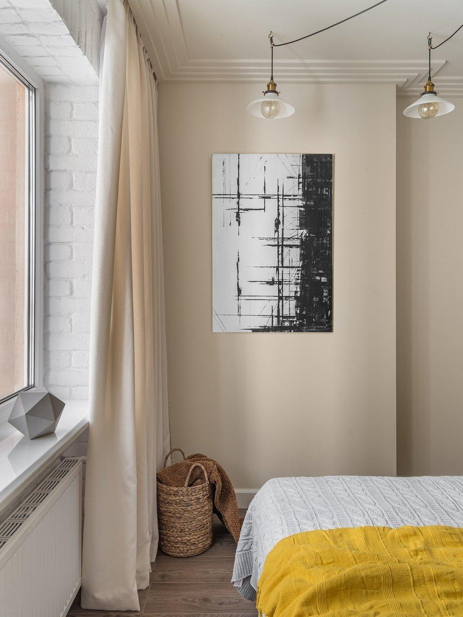 Фотография: Спальня в стиле Современный, Скандинавский, Квартира, Проект недели, 3 комнаты, 60-90 метров, Саратов, Quadrum, ПРЕМИЯ INMYROOM – фото на INMYROOM