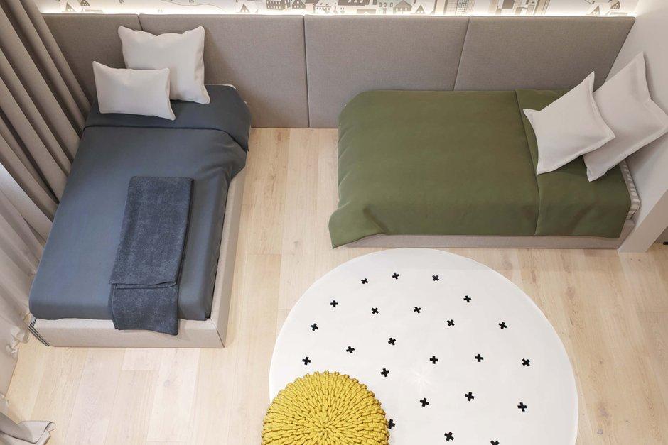 Фотография:  в стиле , Квартира, Проект недели, Москва, Geometrium, 4 и больше, Более 90 метров – фото на INMYROOM