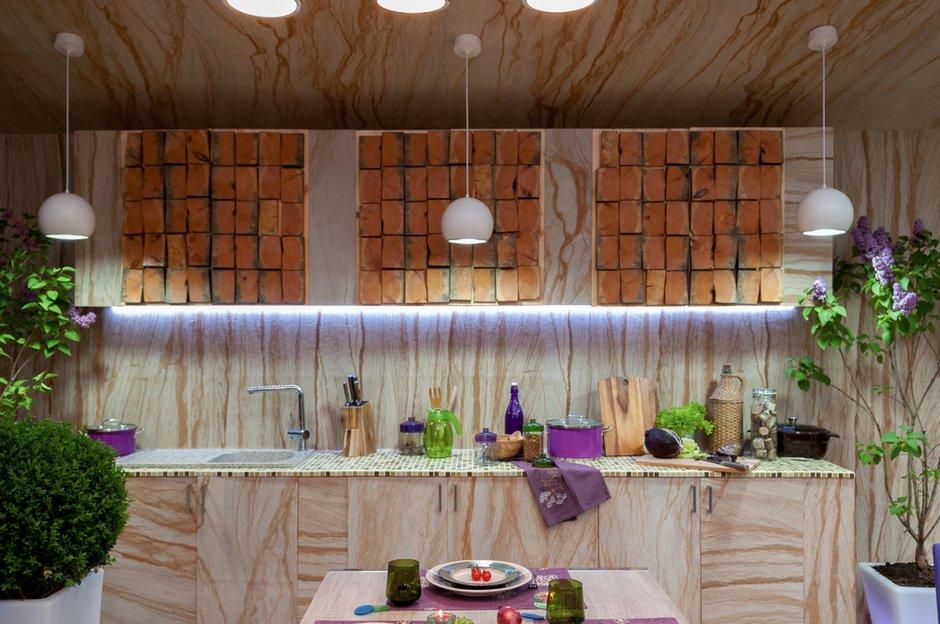 Фотография: Кухня и столовая в стиле Прованс и Кантри, Дом, Терраса, Дома и квартиры – фото на INMYROOM