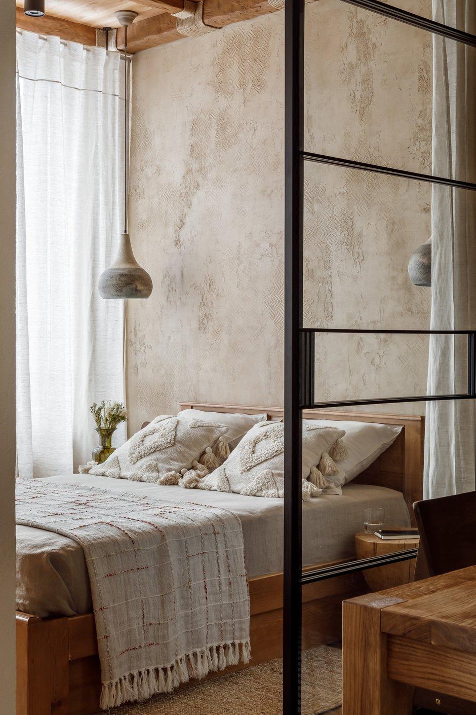 Фотография: Спальня в стиле Эко, Восточный, Квартира, Проект недели, Москва, 3 комнаты, 60-90 метров, AD-Home – фото на INMYROOM