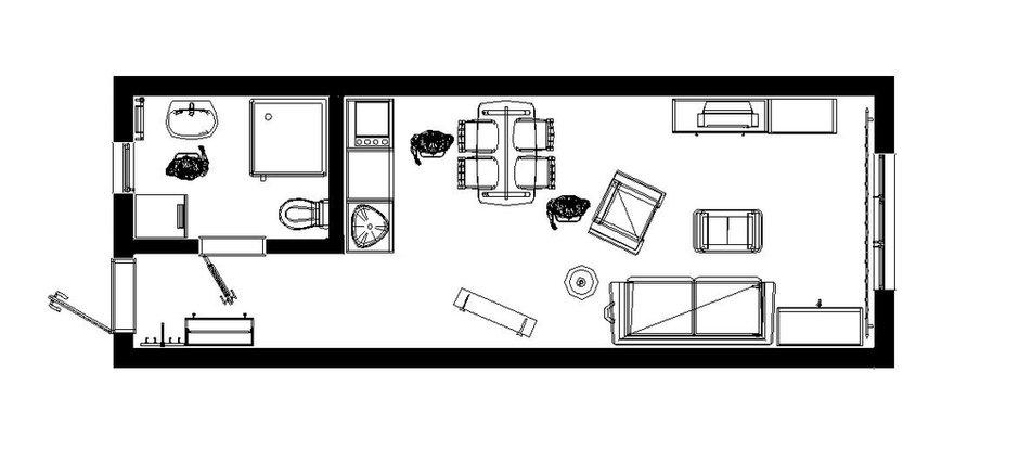 Фотография: Планировки в стиле , Скандинавский, Квартира, Дома и квартиры, Проект недели – фото на INMYROOM