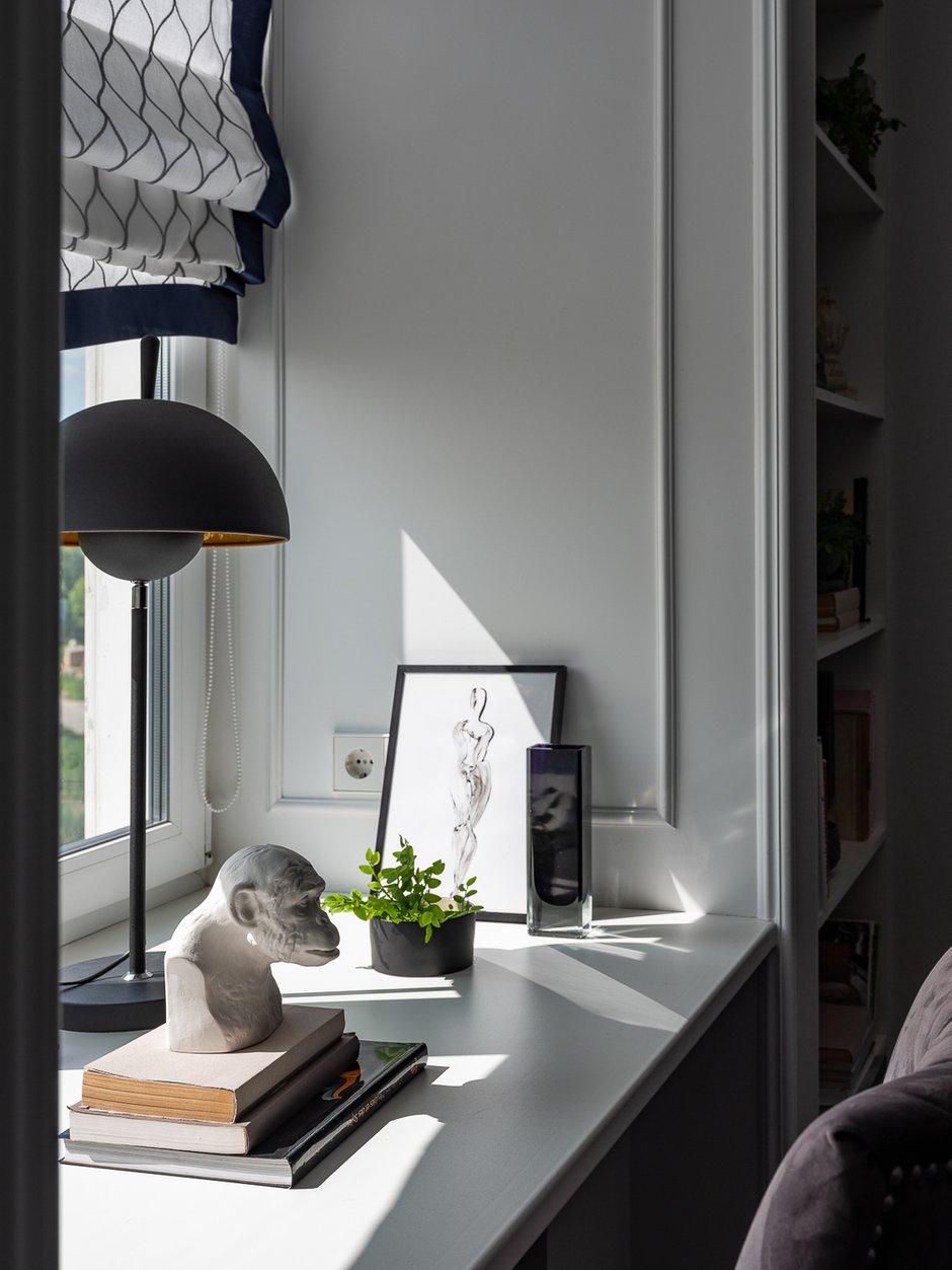 Фотография: Кабинет в стиле Классический, Современный, Проект недели – фото на INMYROOM