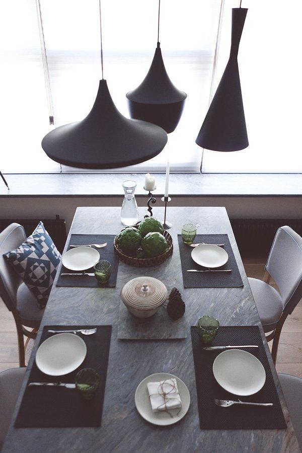 Фотография: Кухня и столовая в стиле Лофт, Современный, Малогабаритная квартира, Квартира, Дома и квартиры, Проект недели, Надя Зотова – фото на INMYROOM