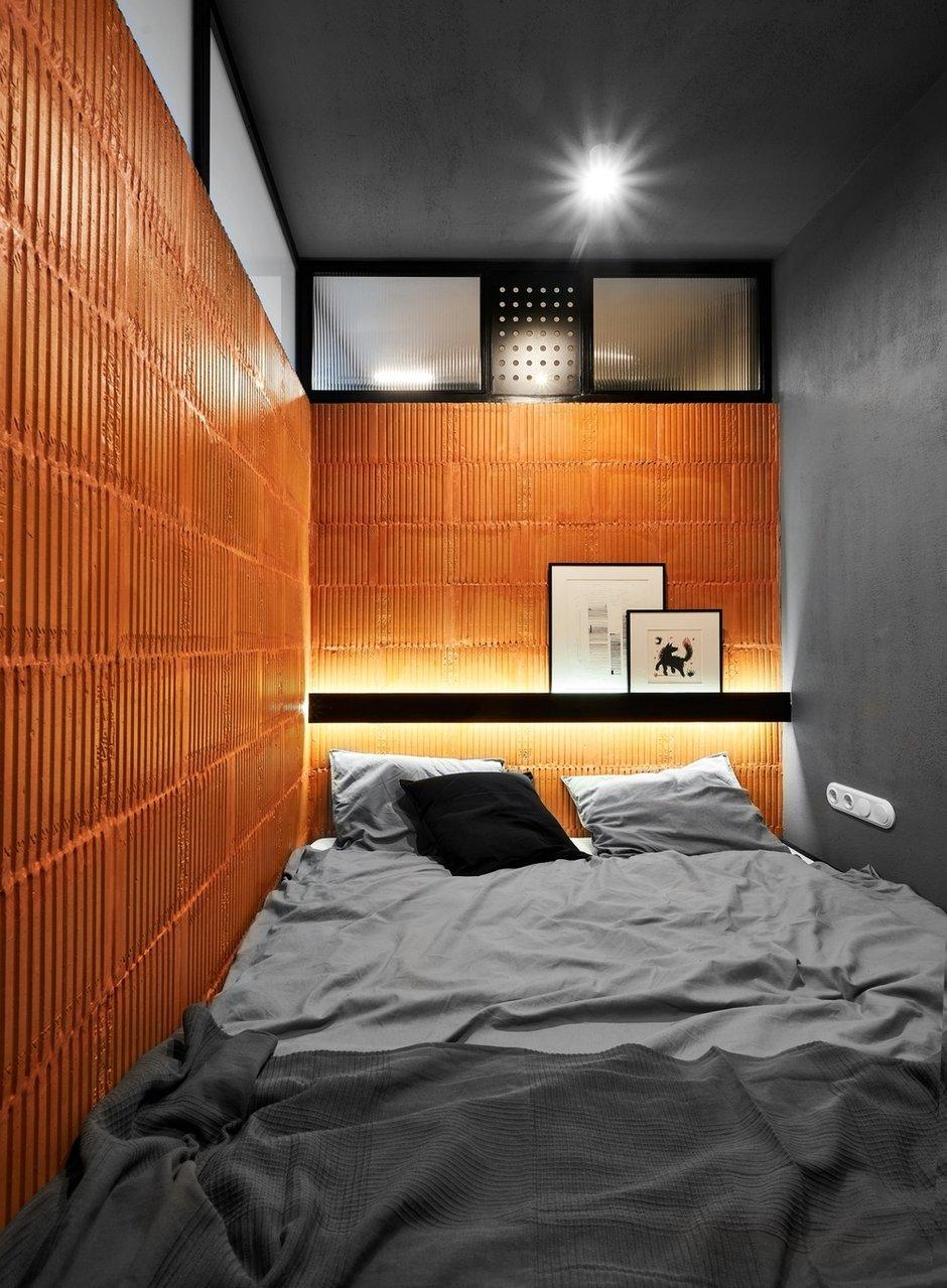 Фотография: Спальня в стиле Минимализм, Лофт, Малогабаритная квартира, Квартира, Студия, Проект недели, Калининград, до 40 метров, Line Design Studio – фото на INMYROOM