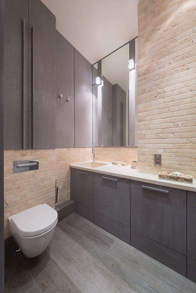 Фотография: Ванная в стиле Лофт, Современный, Квартира, Дома и квартиры, Проект недели, Москва – фото на INMYROOM