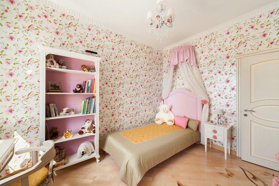 Фотография: Детская в стиле Прованс и Кантри, Квартира, Дома и квартиры, Проект недели, Москва – фото на INMYROOM