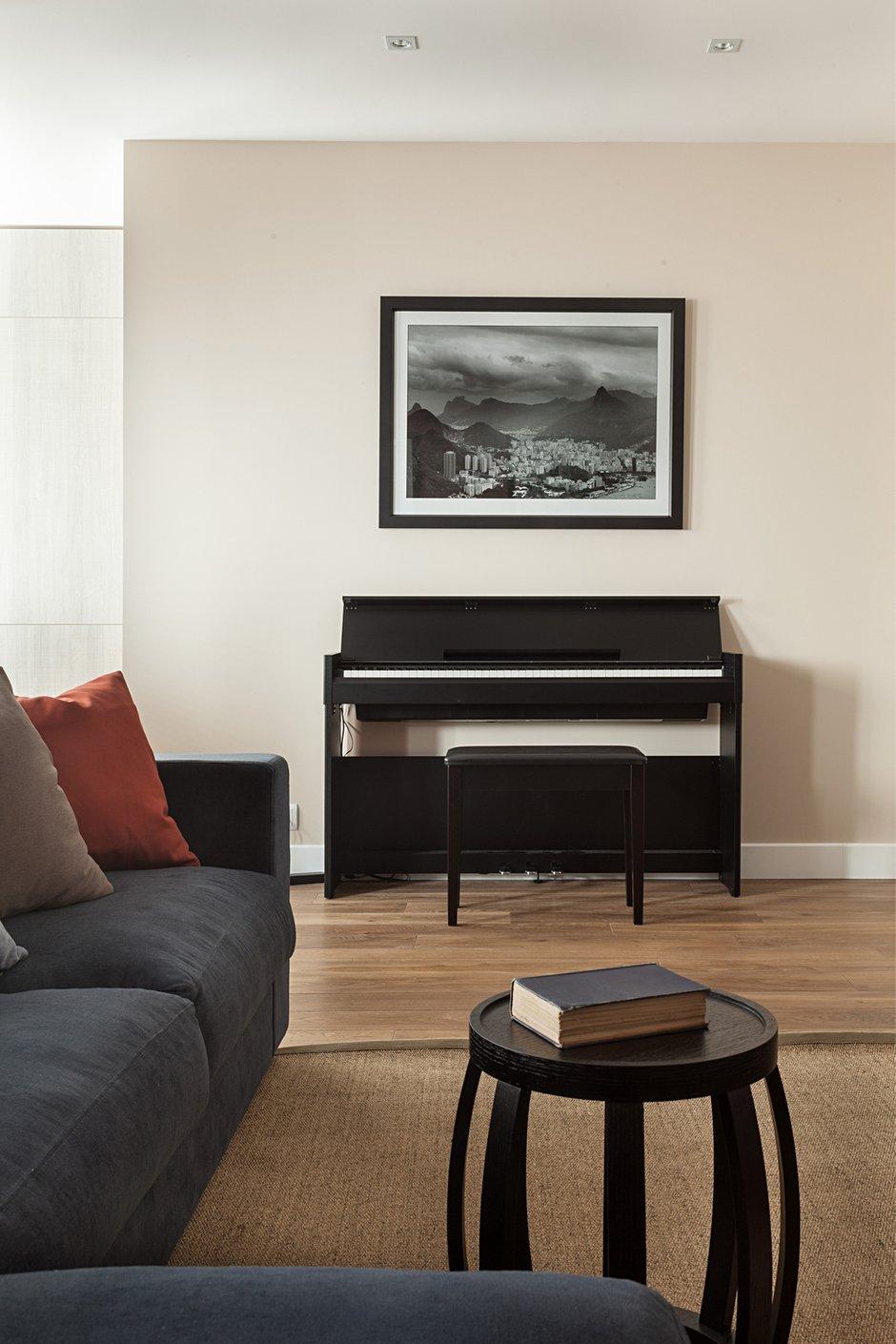 Фотография: Гостиная в стиле Современный, Классический, Квартира, Дома и квартиры, IKEA, Проект недели, Дина Салахова – фото на INMYROOM