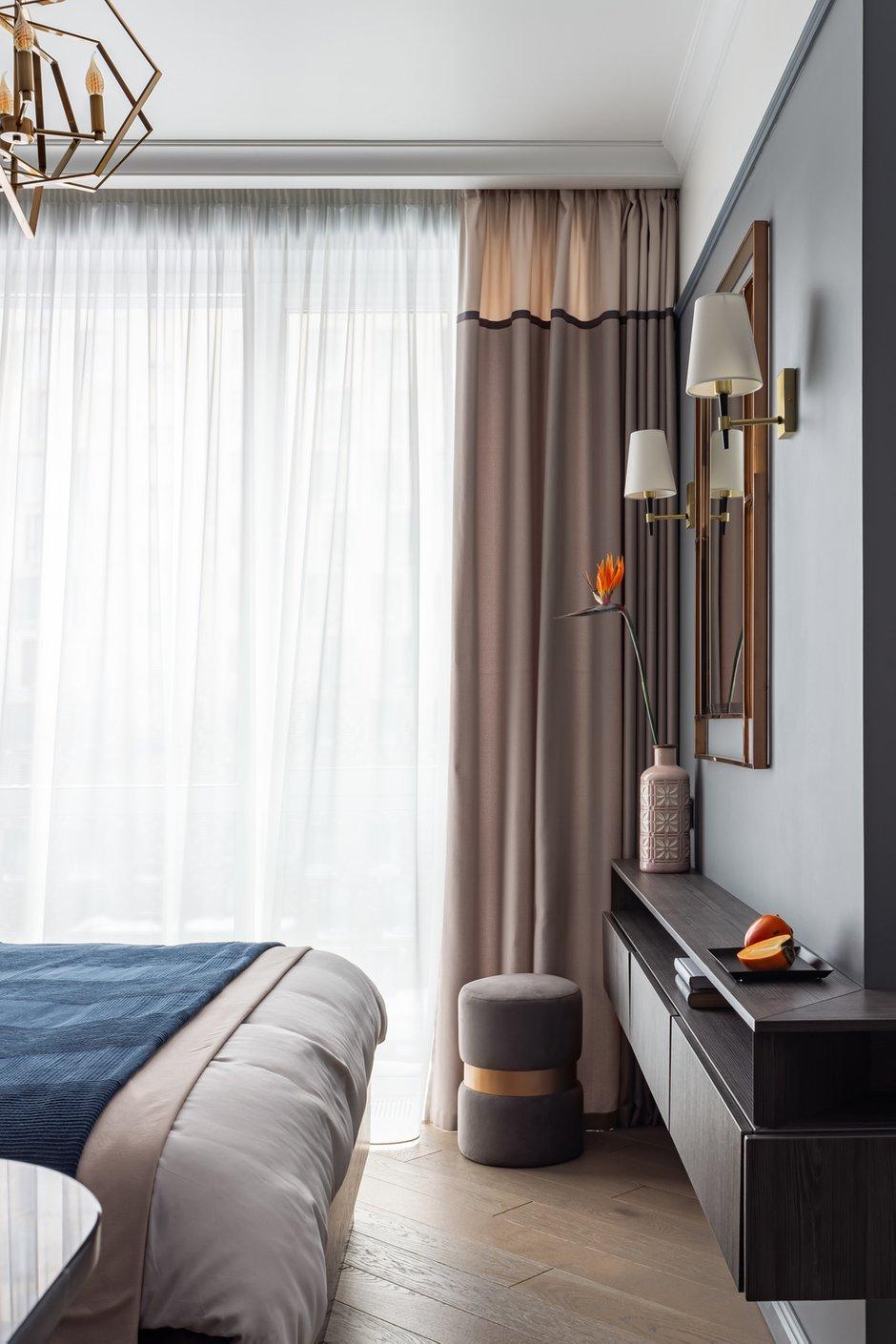 Фотография: Спальня в стиле Современный, Квартира, Студия, Проект недели, Москва, Марина Козлова, 40-60 метров – фото на INMYROOM