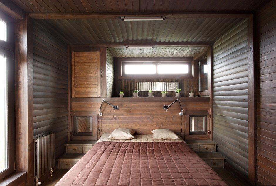 Фотография: Спальня в стиле , Дом, Дома и квартиры, Проект недели, Дача – фото на INMYROOM