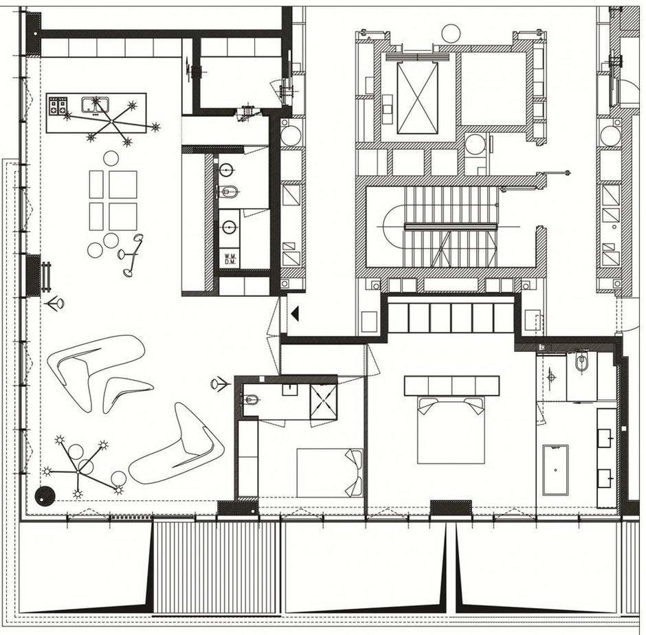 Фотография: Планировки в стиле , Декор интерьера, Квартира, Дома и квартиры, Тель-Авив – фото на INMYROOM