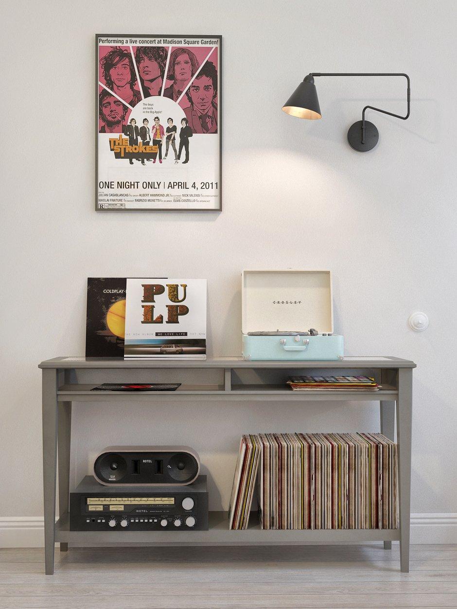 Фотография: Мебель и свет в стиле Скандинавский, Квартира, Дома и квартиры, Проект недели – фото на INMYROOM