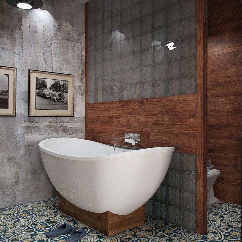 Фотография: Ванная в стиле Современный, Декор интерьера, Квартира, Foscarini, Restoration Hardware, Дома и квартиры, IKEA, Проект недели – фото на INMYROOM