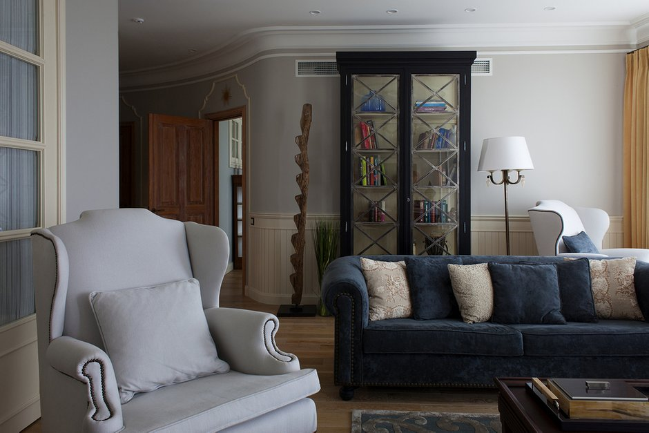 Фотография: Гостиная в стиле Прованс и Кантри, Современный, Декор интерьера, Квартира, Guadarte, Дома и квартиры, Прованс – фото на INMYROOM