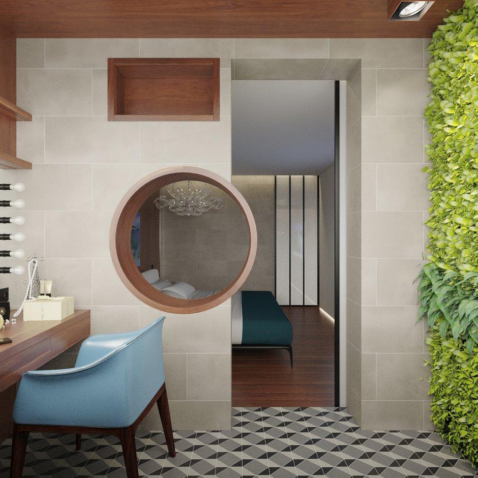 Фотография: Спальня в стиле Минимализм, Квартира, Проект недели – фото на INMYROOM
