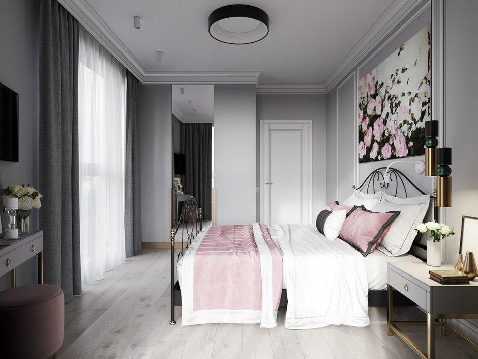 Фотография: Спальня в стиле Современный, Квартира, Проект недели, Минск, 3 комнаты, 60-90 метров, Ирина Горячко – фото на INMYROOM
