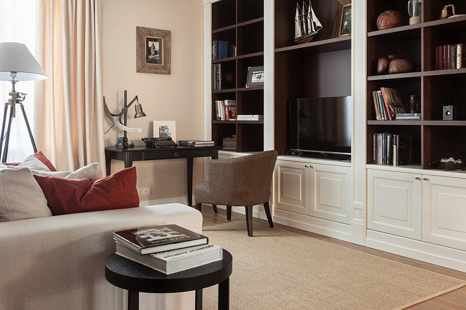 Фотография: Гостиная в стиле Эклектика, Классический, Квартира, Дома и квартиры, IKEA, Проект недели, Дина Салахова – фото на INMYROOM