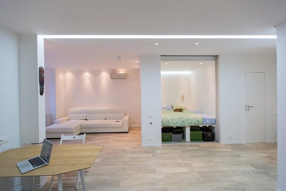 Фотография: Гостиная в стиле Современный, Квартира, Дома и квартиры, IKEA, Проект недели, Москва – фото на INMYROOM