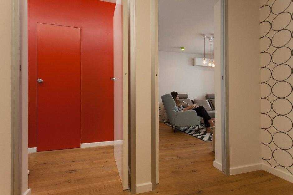 Фотография:  в стиле , Квартира, Проект недели, Москва, Панельный дом, 2 комнаты, 60-90 метров, П44т – фото на INMYROOM