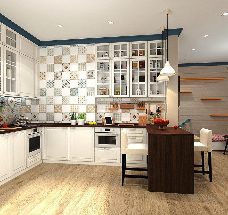 Фотография: Кухня и столовая в стиле Скандинавский, Квартира, Проект недели, Zi-Design Interiors – фото на INMYROOM