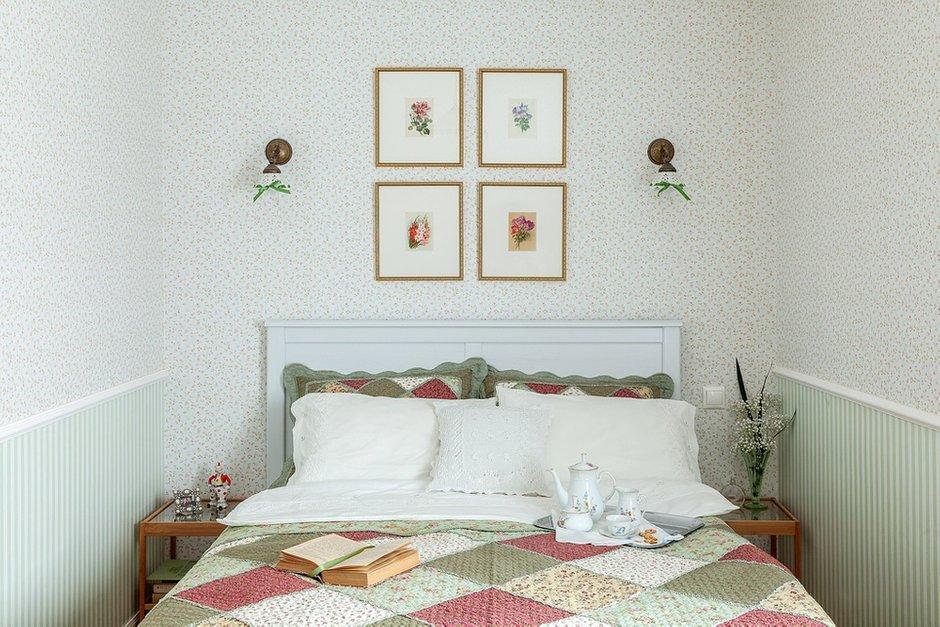 Фотография: Спальня в стиле Прованс и Кантри, Классический, Эклектика, Дом, Проект недели – фото на INMYROOM