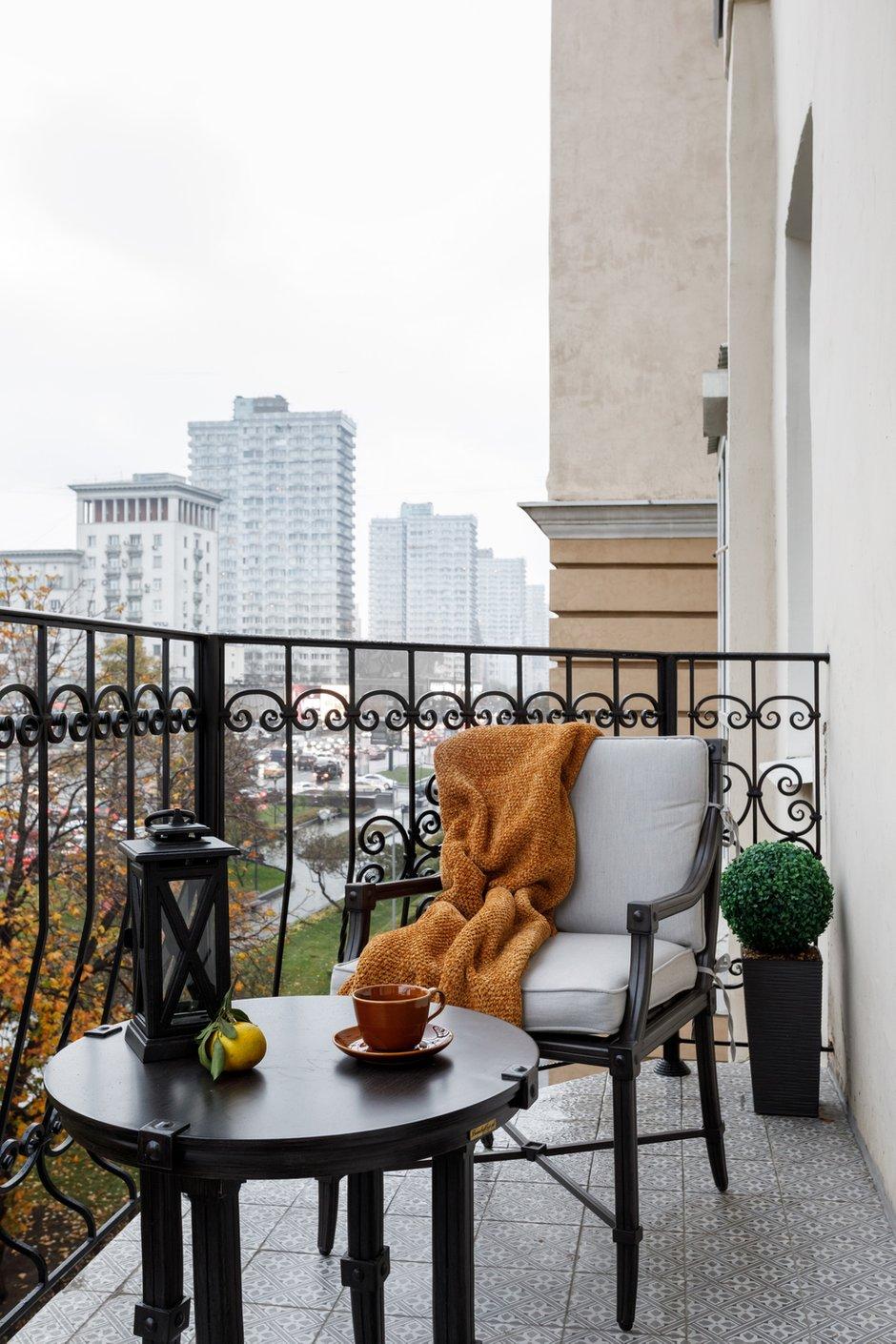 Фотография: Балкон в стиле Современный, Квартира, Проект недели, Москва, Кирпичный дом, 3 комнаты, 60-90 метров, Ольга Цурикова – фото на INMYROOM
