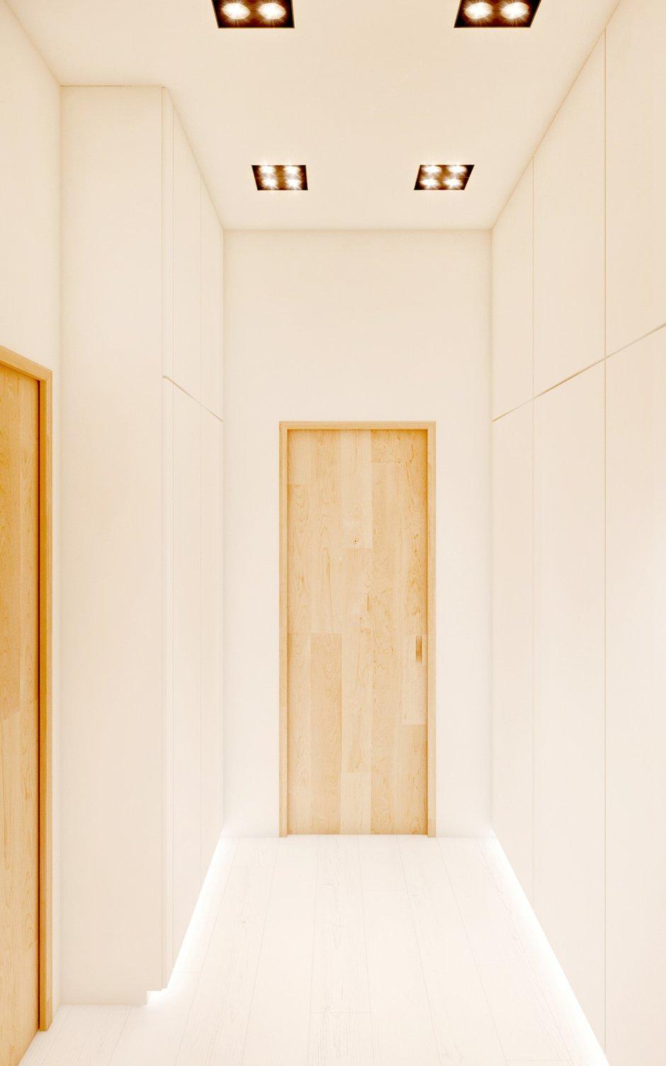 Фотография: Прихожая в стиле Современный, Квартира, Дома и квартиры, Минимализм, Проект недели – фото на InMyRoom.ru